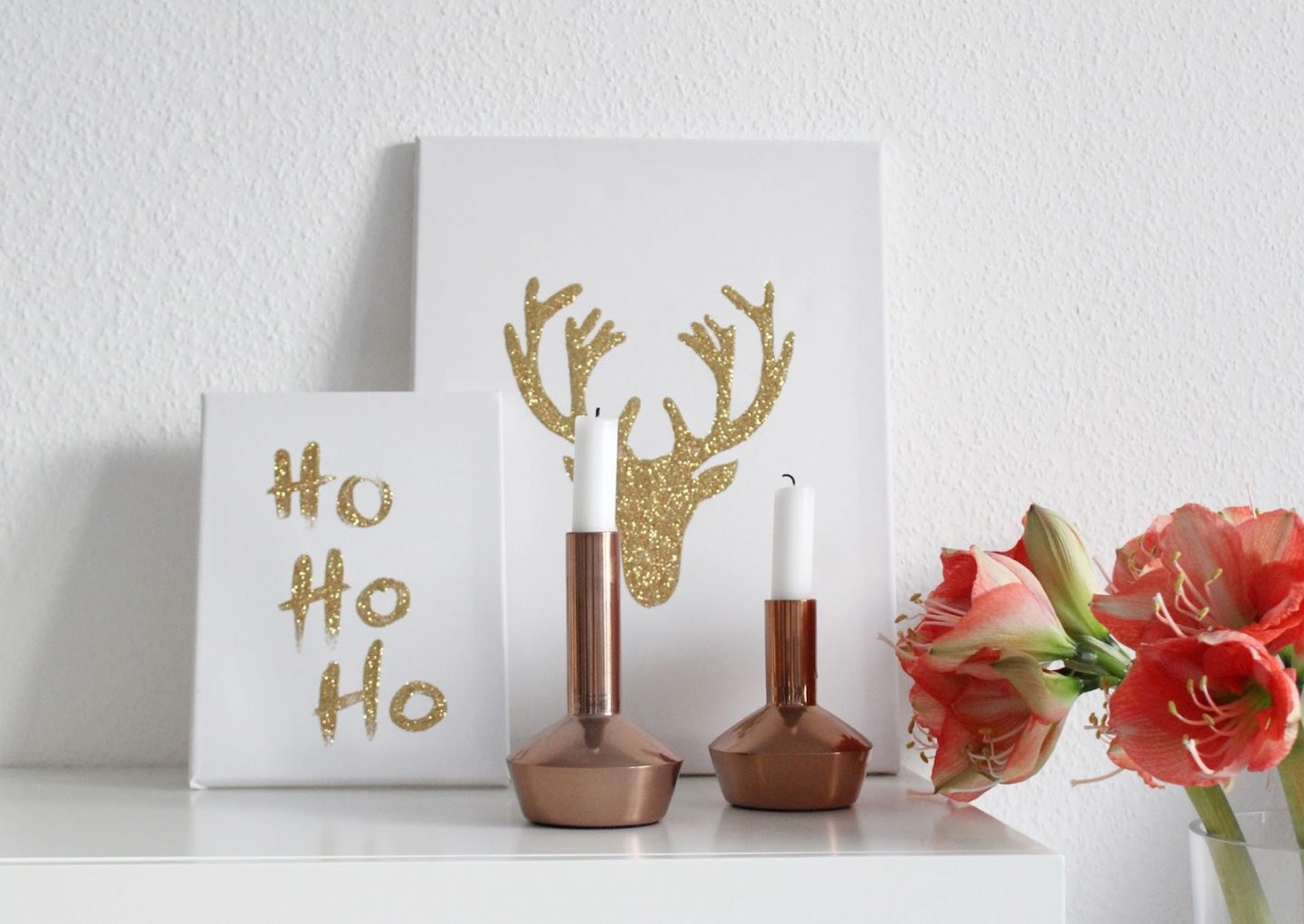 DIY: Christmas Canvas