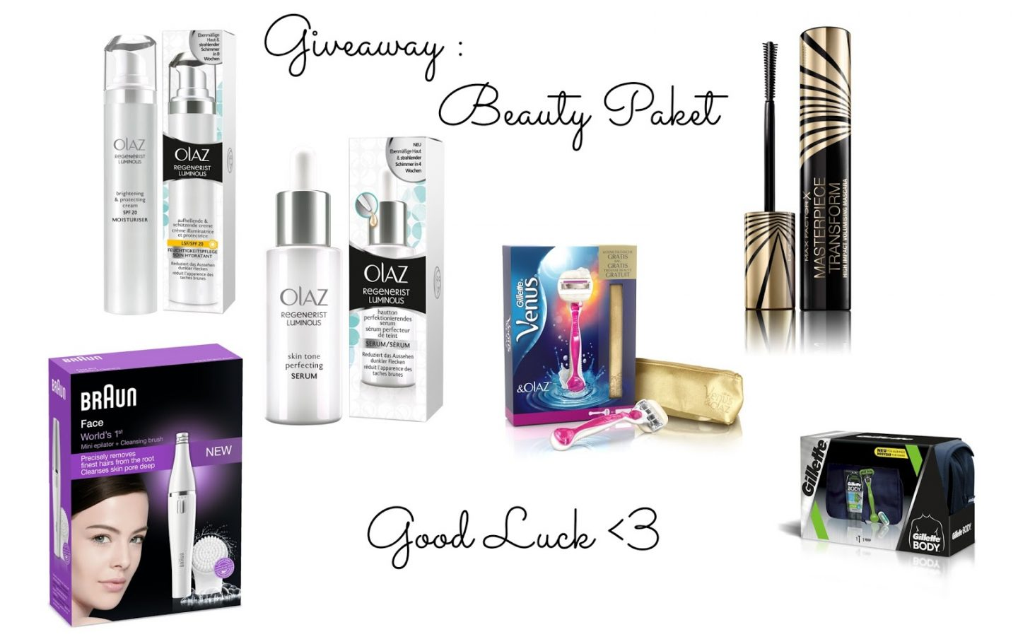 ADVENTS-GIVEAWAY: BEAUTY PAKET
