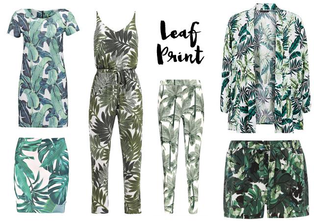 TREND: Leaf Print