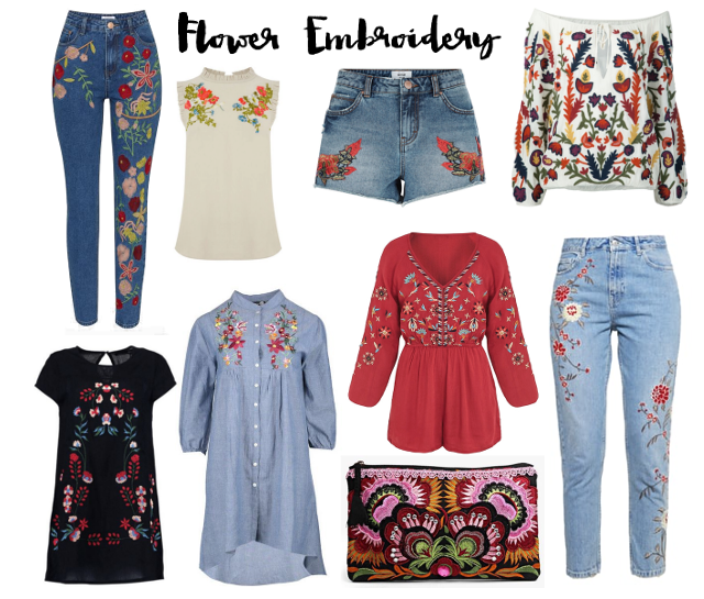 TREND: Flower Embroidery