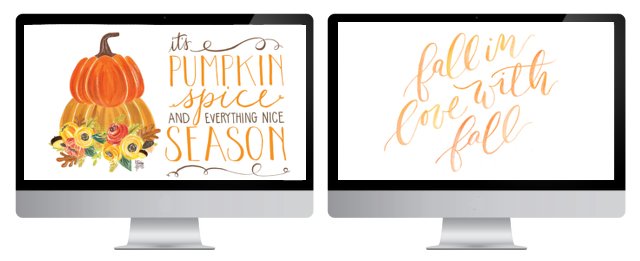 TEN WALLPAPERS FOR FALL