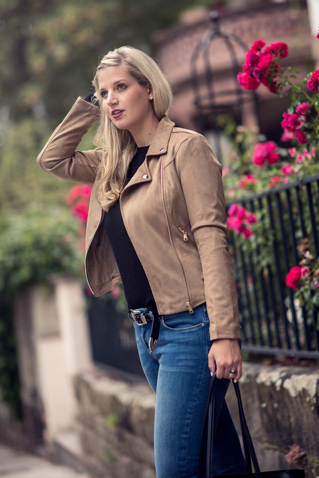 OUTFIT: Hint of Biker