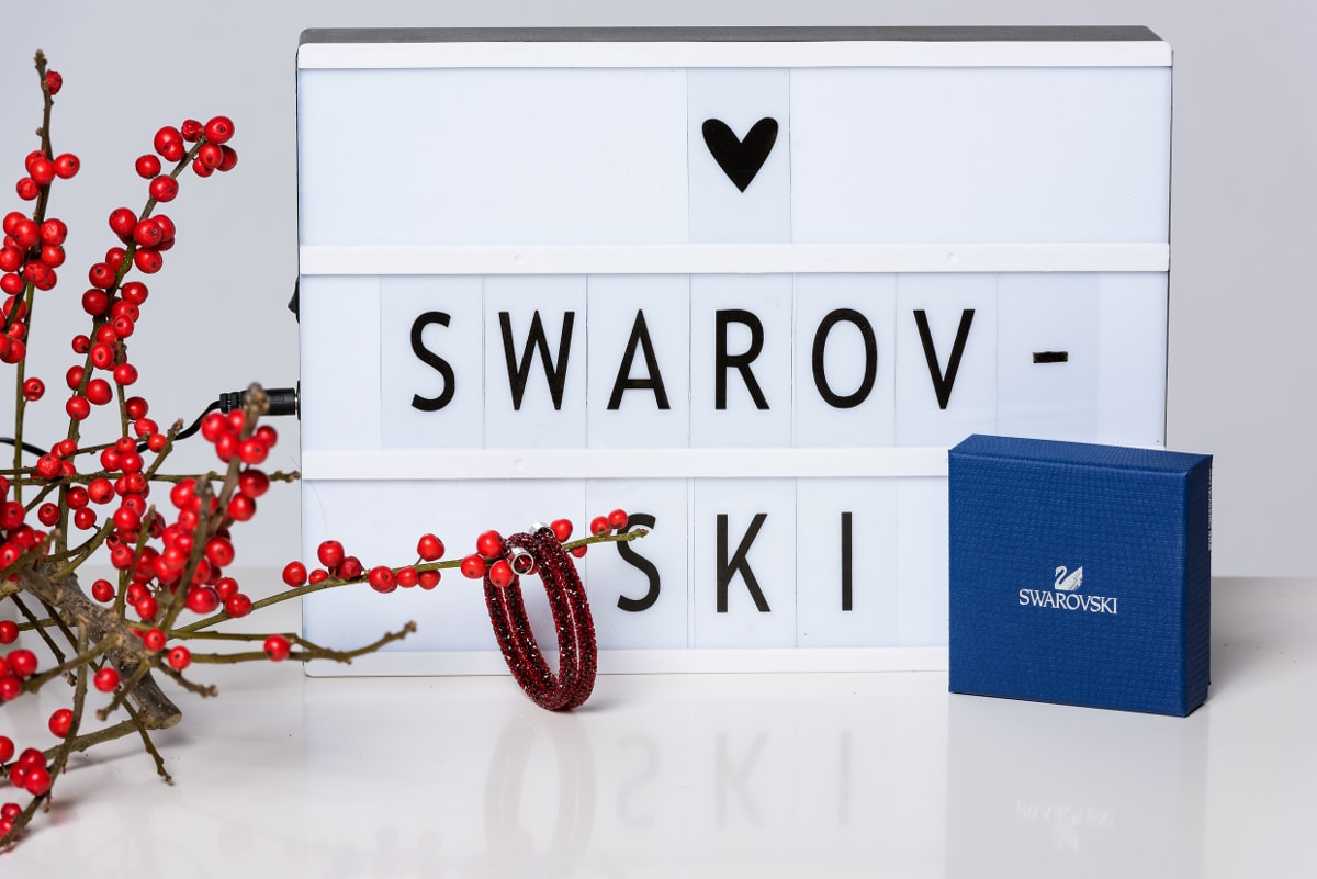 ADVENTSKALENDER #15: Swarovski Crystaldust Armreif