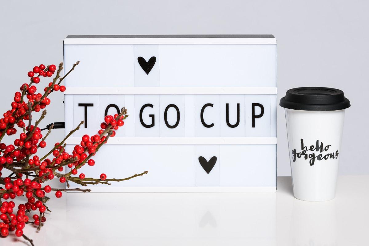 ADVENTSKALENDER #17: hello gorgeous – To-Go Cup