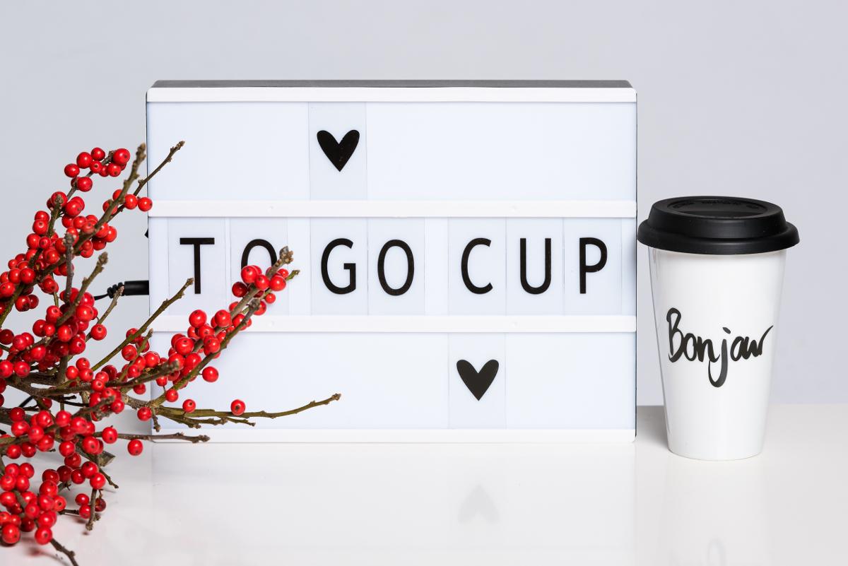 ADVENTSKALENDER #8: Bonjour To-Go Cup