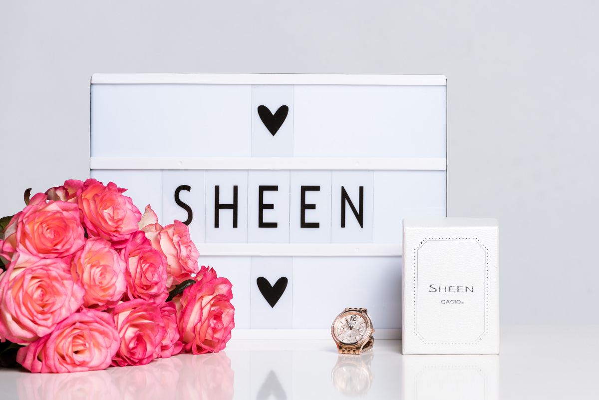 ADVENTSKALENDER #4: Uhr von Sheen in Roségold