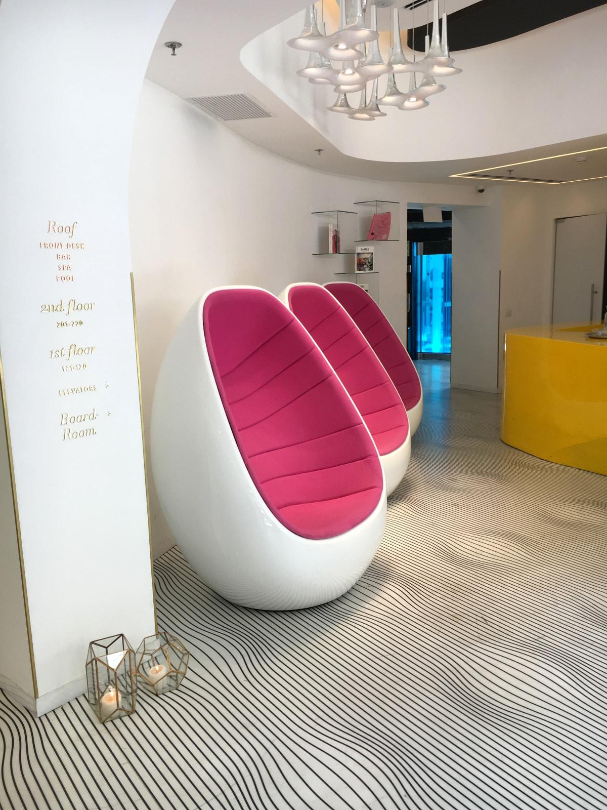 Lobby des Poli House Hotel Tel Aviv