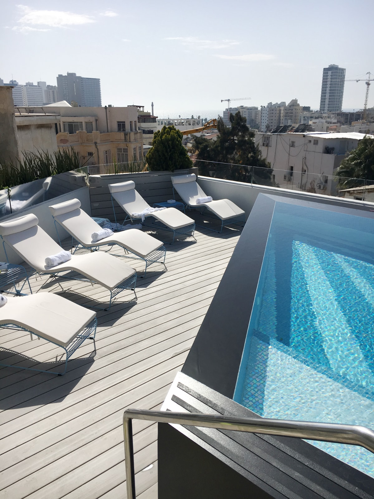 Rooftop des Poli House Hotels