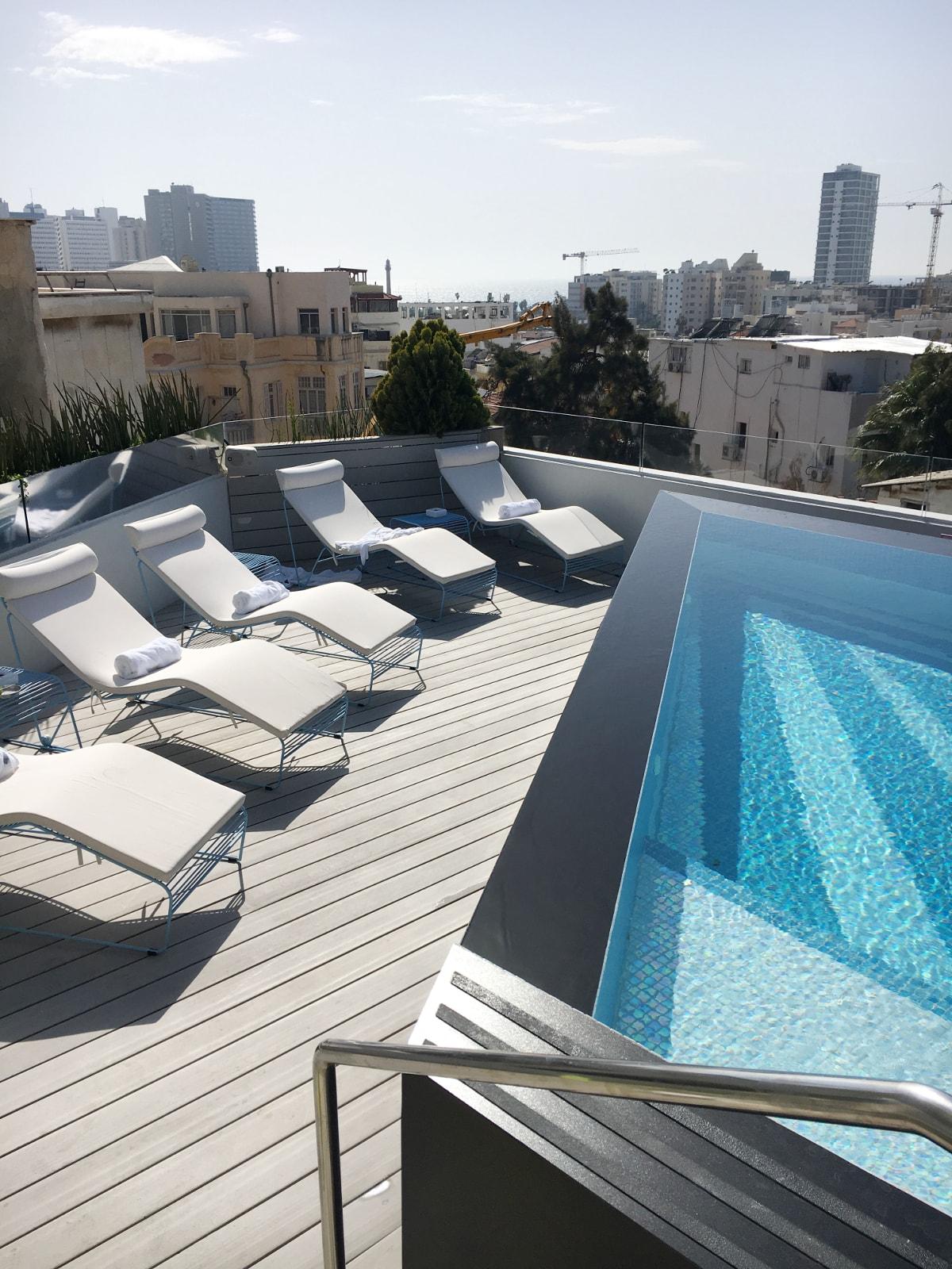 Rooftop des Poli House Hotels
