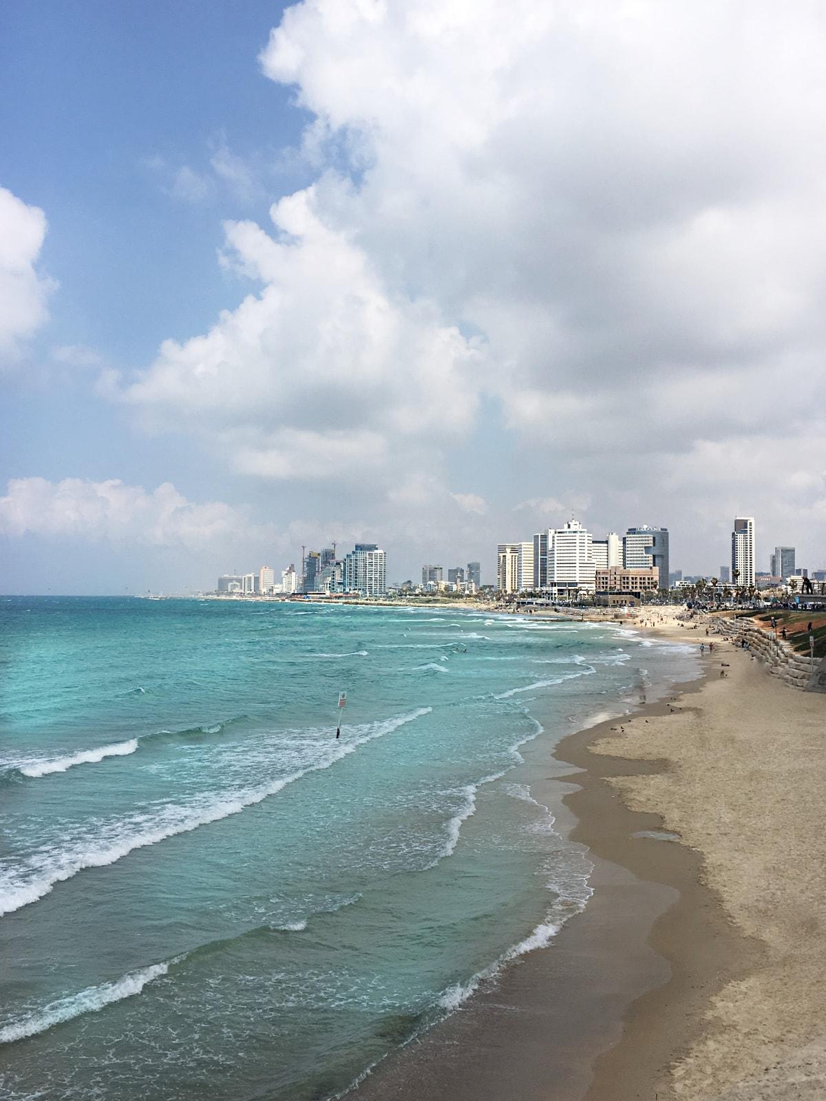 Tel Aviv Beach Küste