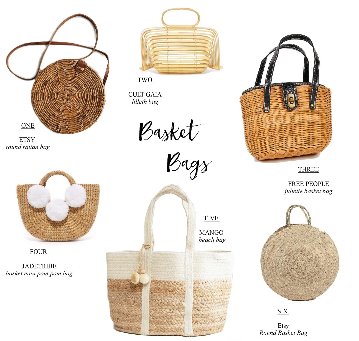 Basket Bags - Fashion Trend 2017
