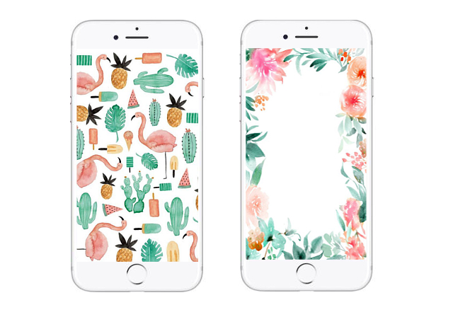 10 Watercolor Wallpapers