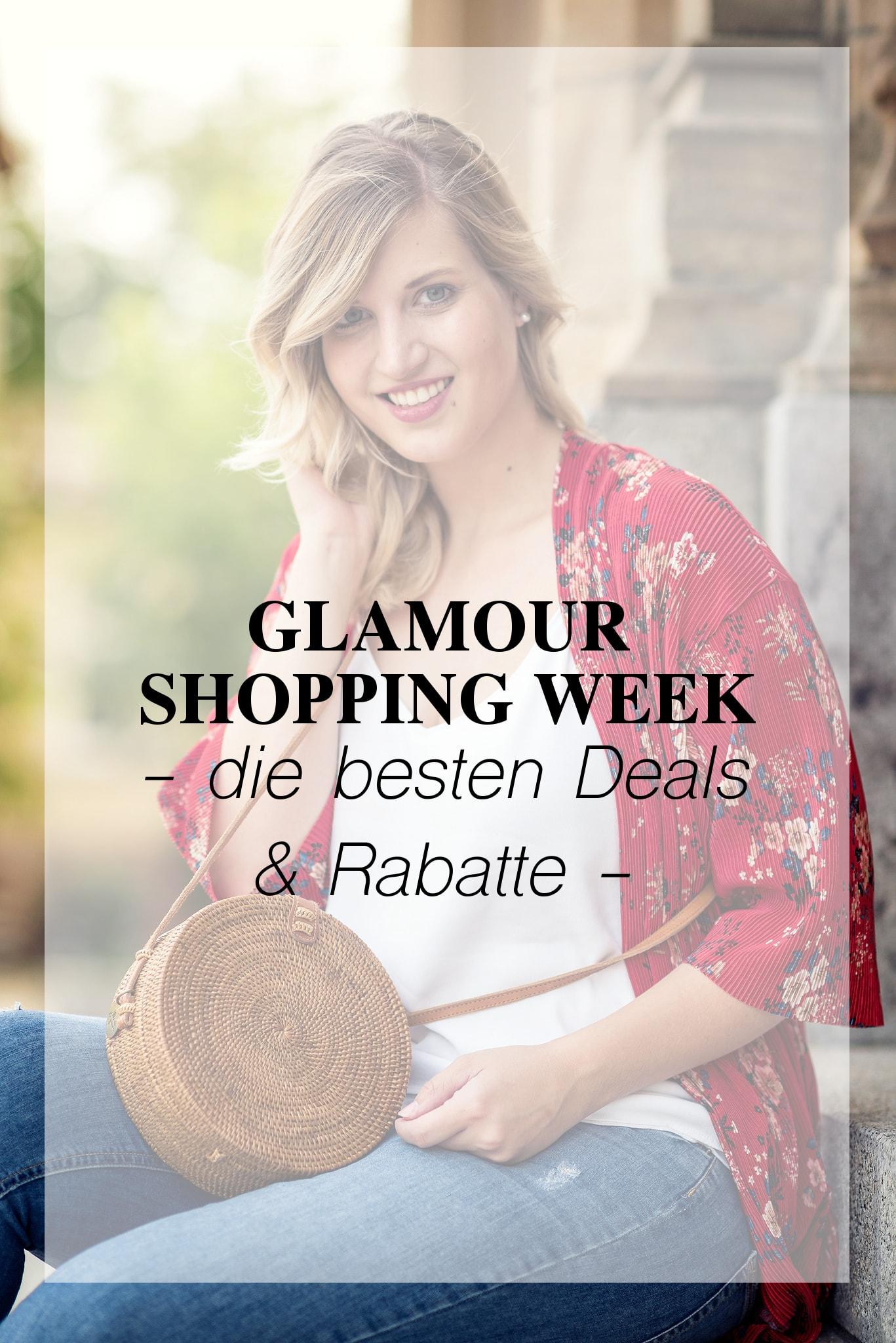 Glamour Shopping Week 2017: Die besten Rabatte auf einen Blick