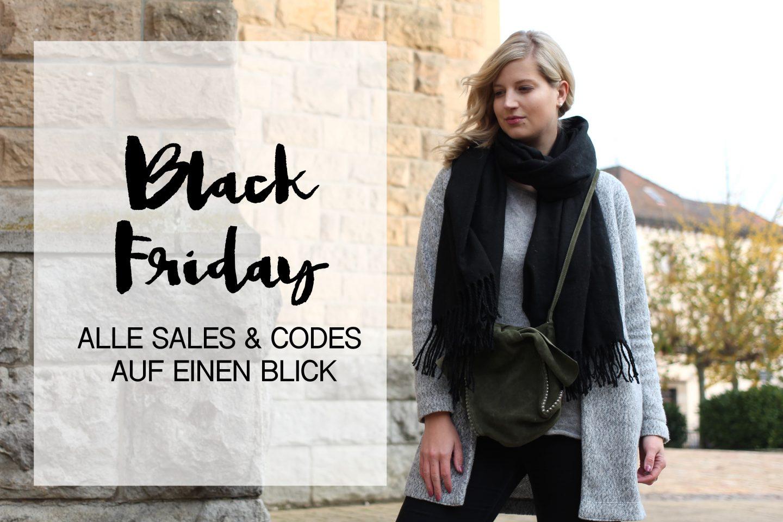 Alle Black Friday Sales & Codes auf einen Blick
